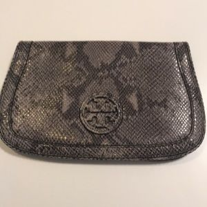 Tory Burch Snakeskin Clutch